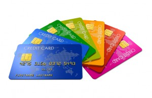 Colored credit cards